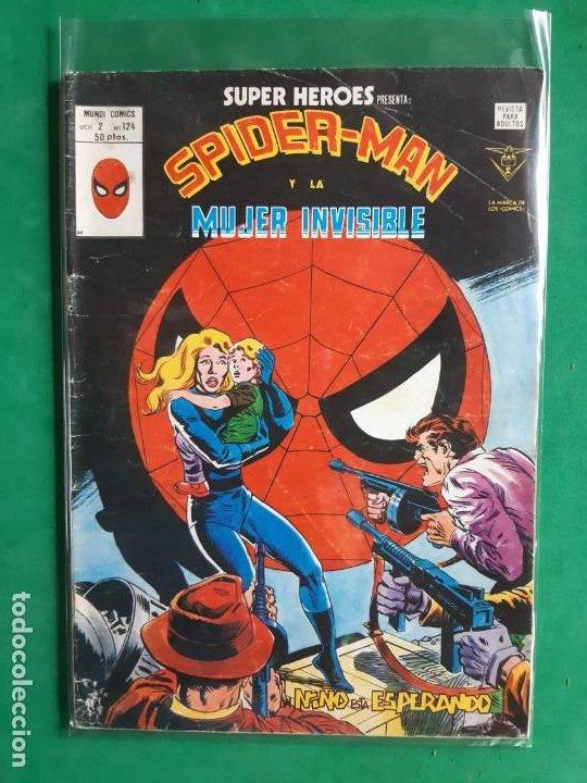 SPIDERMAN Nº 124 VERTICE V2 (Tebeos y Comics - Vértice - V.2)