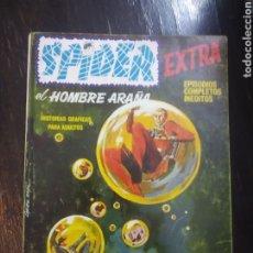 Cómics: VÉRTICE VOL. 1 SPIDER EXTRA Nº 19. 1969. 25 PTS. BURBUJAS DE MUERTE. EPISODIOS COMPLETOS. ESPECIAL. Lote 192813692