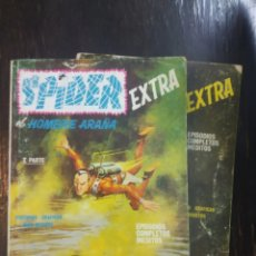 Cómics: SPIDER EL HOMBRE ARAÑA Nº 12-13 VERTICE. CONTRA LOS SIETE SINIESTROS - REPTILES SATANICOS. 1968. Lote 192814401