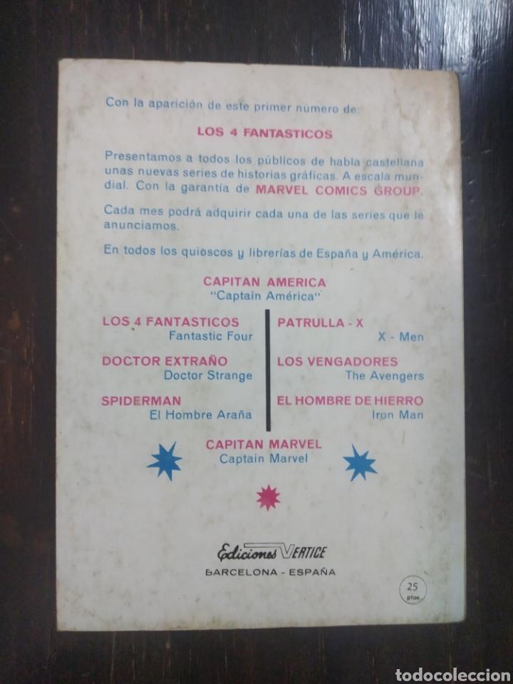 Cómics: LOS 4 FANTASTICOS. VERTICE, V.1. n. 2. La Amenaza del Hombre Milagro. Edición especial. MARVEL - Foto 2 - 192820210