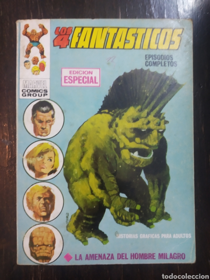 LOS 4 FANTASTICOS. VERTICE, V.1. N. 2. LA AMENAZA DEL HOMBRE MILAGRO. EDICIÓN ESPECIAL. MARVEL (Tebeos y Comics - Vértice - 4 Fantásticos)