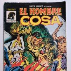 Cómics: SUPER HÉROES PRESENTA: EL HOMBRE COSA Nº 4 - 82- MUNDICOMICS ADULTOS EL GONG DE LA CONDENA. Lote 192854161