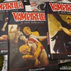 Fumetti: VAMPIRELLA DE PEPE GONZÁLEZ . COMPLETA. Lote 192887182