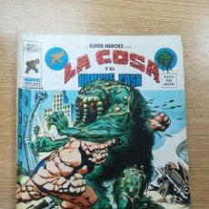 Cómics: SUPER HEROES PRESENTAN VOL 2 #40 LA COSA Y EL HOMBRE COSA. Lote 192926452