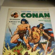 Cómics: CONAN ANUAL' 80 THE BARBARIAN Nº 1 COLOR (BUEN ESTADO). Lote 193026967