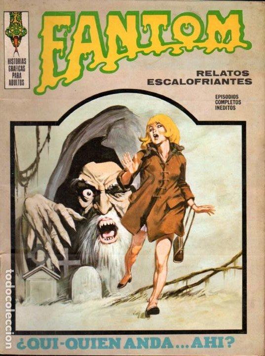 FANTOM VÉRTICE Nº 11 (Tebeos y Comics - Vértice - Terror)