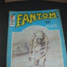 Cómics: FANTOM Nº 4. RELATOS ESCALOFRIANTES. EDICIONES VERTICE 1972.. Lote 193257725