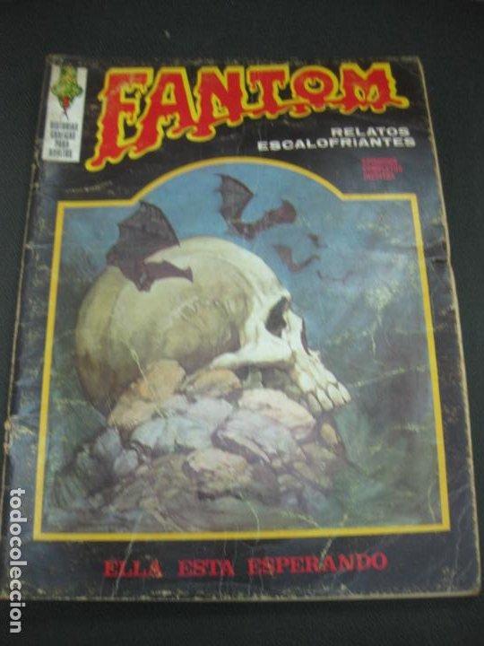 FANTOM Nº 20. RELATOS ESCALOFRIANTES. EDICIONES VERTICE 1973. (Tebeos y Comics - Vértice - Terror)