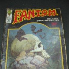 Cómics: FANTOM Nº 20. RELATOS ESCALOFRIANTES. EDICIONES VERTICE 1973.. Lote 193258386