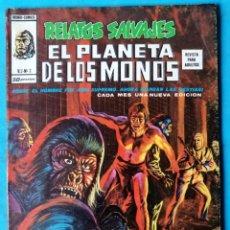 Cómics: RELATOS SALVAJES - EL PLANETA DE LOS MONOS VOL.2 Nº 2 - VÉRTICE 1977 ''BUEN ESTADO''. Lote 192639257