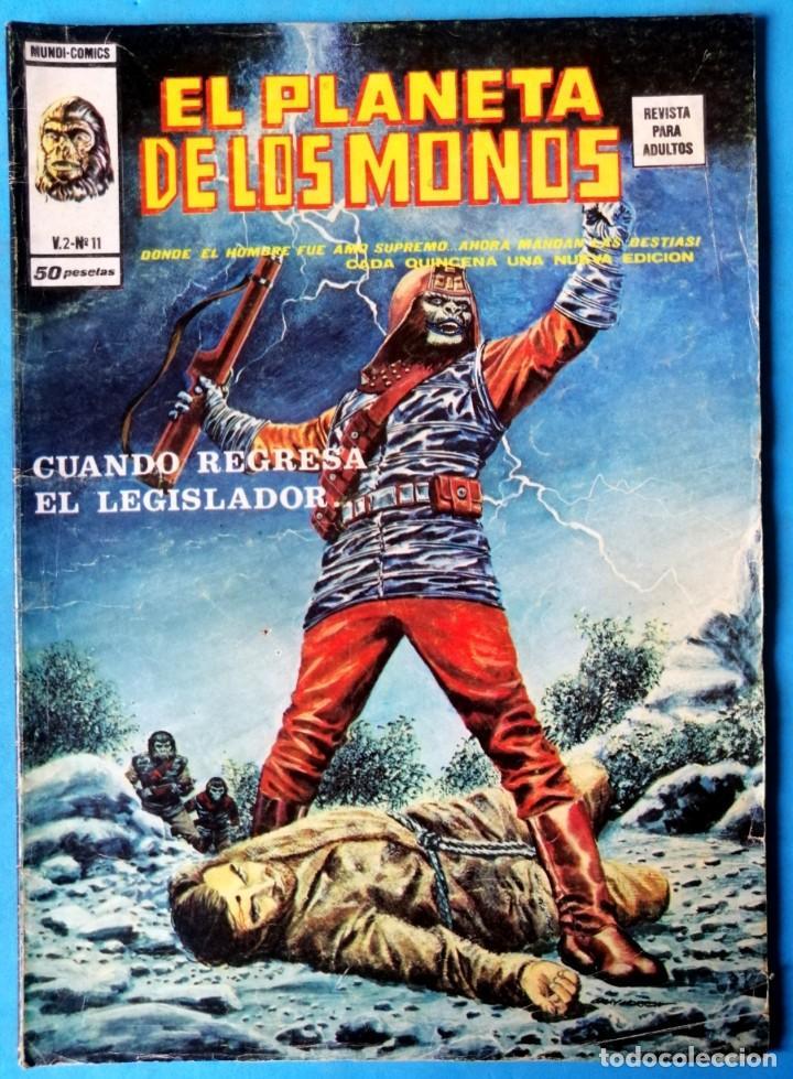 EL PLANETA DE LOS MONOS - VOL. 2 - Nº 11 - VÉRTICE 1977 (Tebeos y Comics - Vértice - Relatos Salvajes)