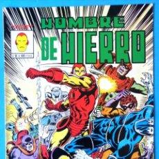 Fumetti: HOMBRE DE HIERRO Nº 8 - 82 ¡EL HOGAR DE UN HOMBRE ES CAMPO DE BATALLA! - VERTICE ''MUY BUEN ESTADO''. Lote 193413403
