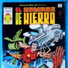 Cómics: EL HOMBRE DE HIERRO VOL. 2 Nº 67 ¡A MERCED DE MIS ENEMIGOS! - VÉRTICE ''BUEN ESTADO''. Lote 193418222