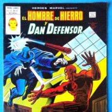 Cómics: EL HOMBRE DE HIERRO Y DAN DEFENSOR VOL. 2 Nº 53 - ¡CAZA DE HOMBRE! - VERTICE ''MUY BUEN ESTADO'' . Lote 193435036