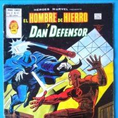 Cómics: EL HOMBRE DE HIERRO Y DAN DEFENSOR VOL. 2 Nº 53 - ¡CAZA DE HOMBRE! - VERTICE . Lote 193435263