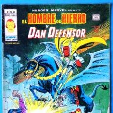 Cómics: EL HOMBRE DE HIERRO Y DAN DEFENSOR VOL. 2 Nº 52 - EL CABALLERO TERRIBLE Y LA HIJA DE LA - VERTICE . Lote 193436098