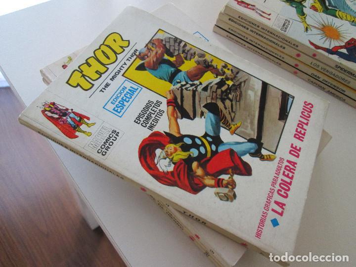 (VERTICE-V-1) THOR - Nº: 7 .- EXCELENTE.- (Tebeos y Comics - Vértice - Super Héroes)