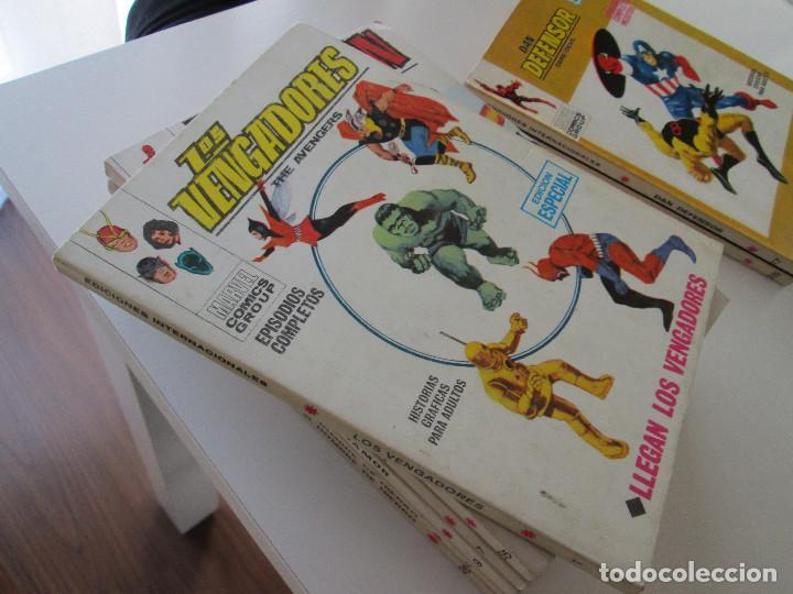 (VERTICE -V.1) LOS VENGADORES - Nº: 1 - MBE.- (Tebeos y Comics - Vértice - Super Héroes)