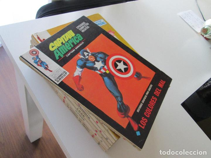 (VERTICE -V.1) CAPITAN AMERICA - Nº: 25 - MBE.- (Tebeos y Comics - Vértice - Super Héroes)