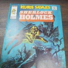 Cómics: RELATOS SALVAJES. SHERLOCK HOLMES. EL PERRO DE LOS BASKERVILLES. EDICIONES VERTICE. Nº 35. 1974.. Lote 193676910