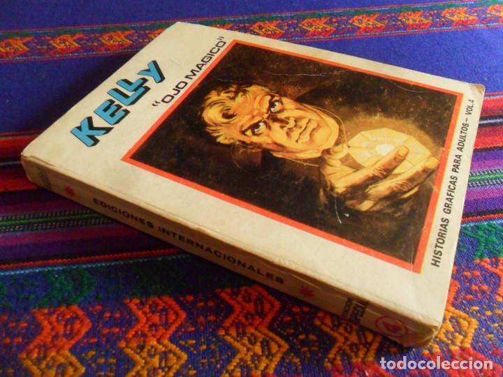 VÉRTICE VOL. 1 EDICIÓN ESPECIAL KELLY OJO MÁGICO Nº 4. 1973. 50 PTS. BUEN ESTADO. (Tebeos y Comics - Vértice - V.1)