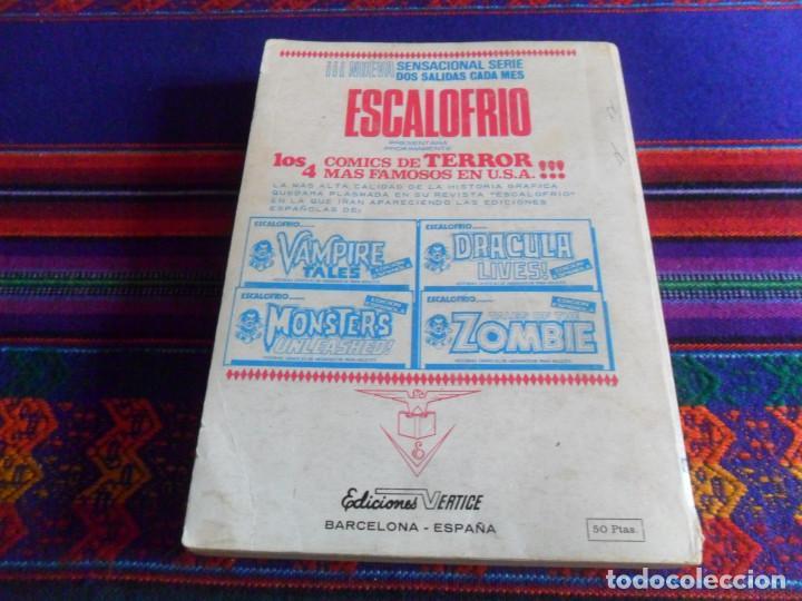 Cómics: VÉRTICE VOL. 1 EDICIÓN ESPECIAL KELLY OJO MÁGICO Nº 4. 1973. 50 PTS. BUEN ESTADO. - Foto 3 - 193738051