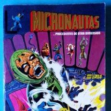 Comics: MICRONAUTAS Nº 1, 2, 3, 4 Y 5 RETAPADOS - LINEA SURCO (VER FOTOS INTERIOR) ''BUEN ESTADO''. Lote 193777851