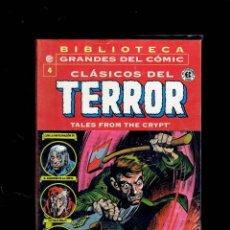 Cómics: BIBLIOTECA GRANDES DEL COMIC CLASICOS DE TERROR TOMO 4,. Lote 193783825