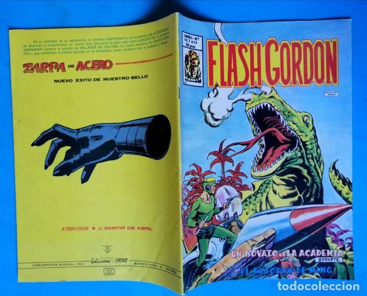 Cómics: FLASH GORDON - VOL. 2 - Nº 33 - UN NOVATO EN LA ACADEMIA 2ª PARTE - VÉRTICE MUY BUEN ESTADO - Foto 2 - 193785587