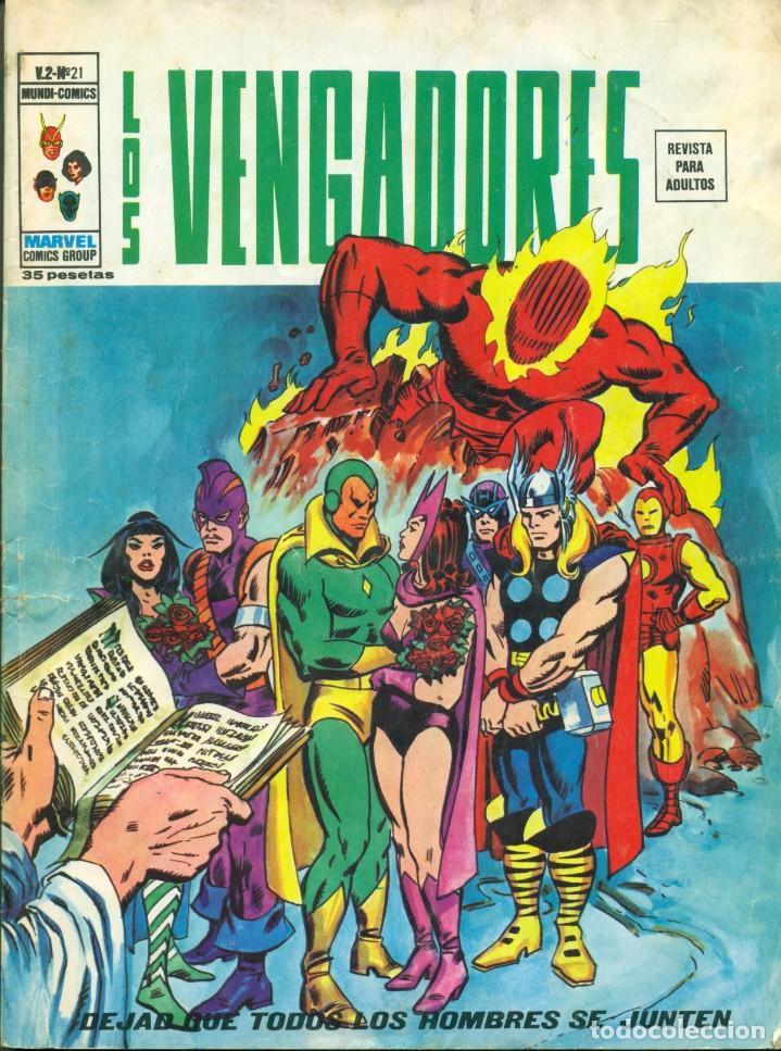 LOS VENGADORES V2-21 (VERTICE) (Tebeos y Comics - Vértice - Vengadores)