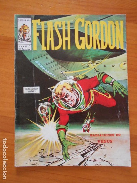 FLASH GORDON VOL. 1 Nº 10 - RADIACIONES EN VENUS - VERTICE (IT) (Tebeos y Comics - Vértice - Flash Gordon)