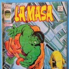 Cómics: LA MASA VOL. 3 Nº 25 ¡UN INFIERNO PARA LA MASA! - VÉRTICE . Lote 193836296