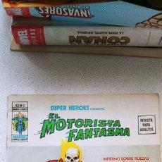 Cómics: SUPER HEROES SUPERHEROES VOL.2 VERTICE Nº 2 EL MOTORISTA FANTASMA MUY DIFÍCIL. Lote 193855016