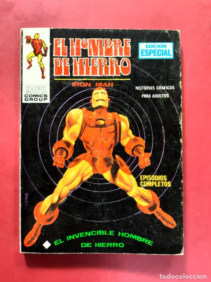 EL HOMBRE DE HIERRO-Nº1-VERTICE-EXCELENTE ESTADO-VER FOTOGRAFIAS (Tebeos y Comics - Vértice - Hombre de Hierro)