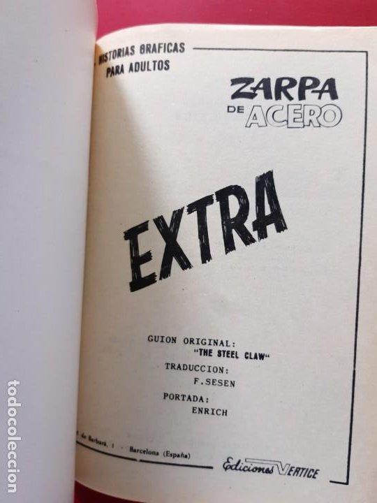Cómics: ZARPA DE ACERO Nº 5 VERTICE BUEN ESTADO VER FOTOGRAFIAS - Foto 2 - 193916827
