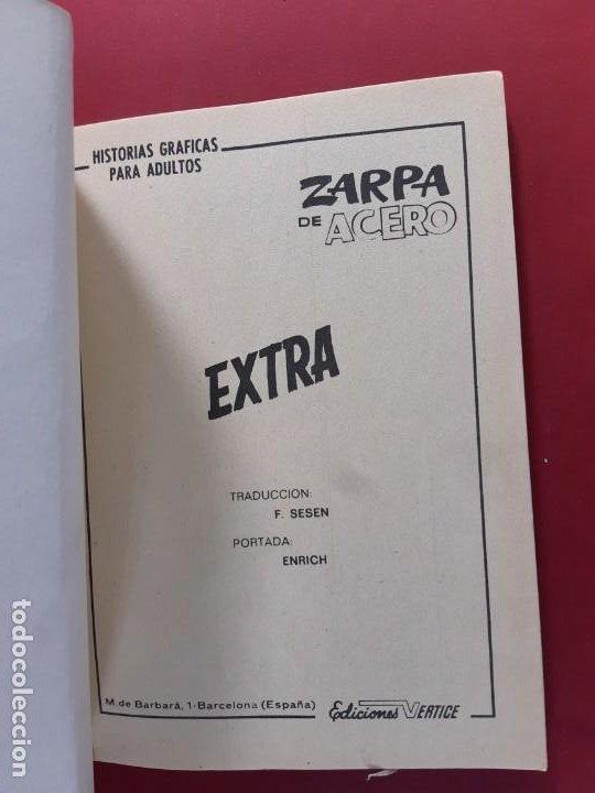 Cómics: ZARPA DE ACERO Nº 25 VERTICE EXCELENTE ESTADO VER FOTOGRAFIAS - Foto 2 - 193918013