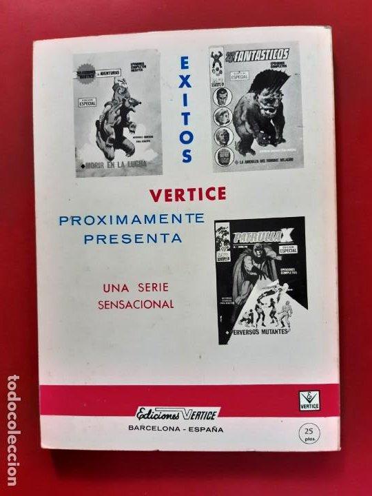 Cómics: ZARPA DE ACERO Nº 25 VERTICE EXCELENTE ESTADO VER FOTOGRAFIAS - Foto 3 - 193918013