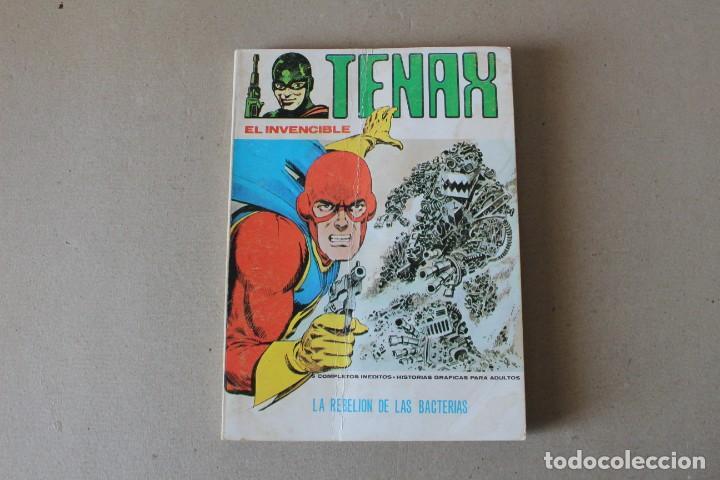 TENAX EL INVENCIBLE Nº 12: LA REBELIÓN DE LAS BACTERIAS - EDICIONES VERTICE (TACO) (Tebeos y Comics - Vértice - Otros)