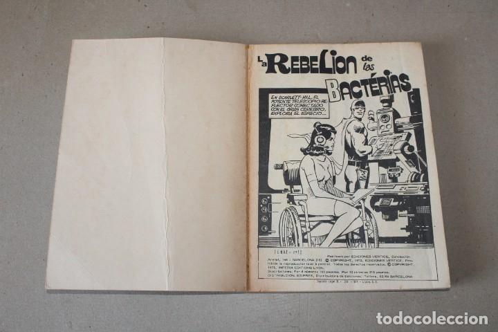 Cómics: TENAX EL INVENCIBLE Nº 12: LA REBELIÓN DE LAS BACTERIAS - EDICIONES VERTICE (TACO) - Foto 2 - 194010412