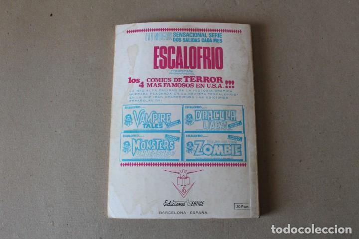 Cómics: TENAX EL INVENCIBLE Nº 12: LA REBELIÓN DE LAS BACTERIAS - EDICIONES VERTICE (TACO) - Foto 5 - 194010412