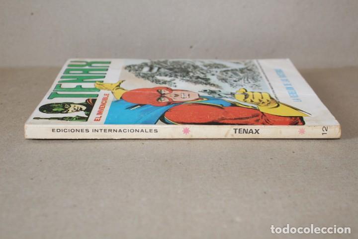 Cómics: TENAX EL INVENCIBLE Nº 12: LA REBELIÓN DE LAS BACTERIAS - EDICIONES VERTICE (TACO) - Foto 6 - 194010412