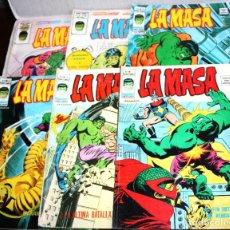 Fumetti: LA MASA,(MUNDI-COMICS) VOL.3, NºS 07,11,23,25,36 Y 38. Lote 194087498