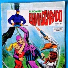Cómics: EL HOMBRE ENMASCARADO VOL. 2 - Nº 3 '' LA MALDICIÓN'' '' EL PASAJERO MISTERIOSO'' 1979 - VÉRTICE . Lote 194120035