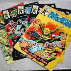 Comics : PUÑO DE HIERRO (MUNDI-COMICS) VOL.1 Nº 21+ Nº22+ Nº23+ Nº25+ Nº32. Lote 194138012
