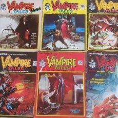 Cómics: LOTE DE 8 Nº DE ESCALOFRÍO 1-17-20-22-27-31-35 42 VAMPIRE TALES 1-4-5-6-7-8-9-11 VERTICE. Lote 194154012