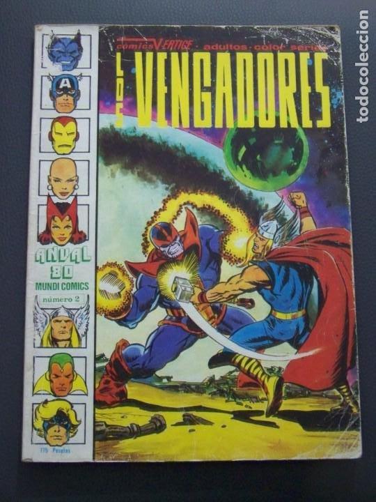 LOS VENGADORES ANUAL 80 (Tebeos y Comics - Vértice - Vengadores)