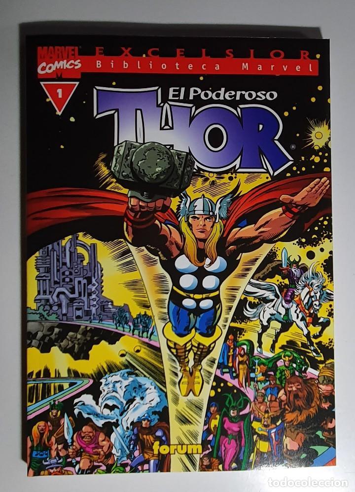 BIBLIOTECA MARVEL EXCELSIOR - THOR Nº 1 (Tebeos y Comics - Vértice - Thor)