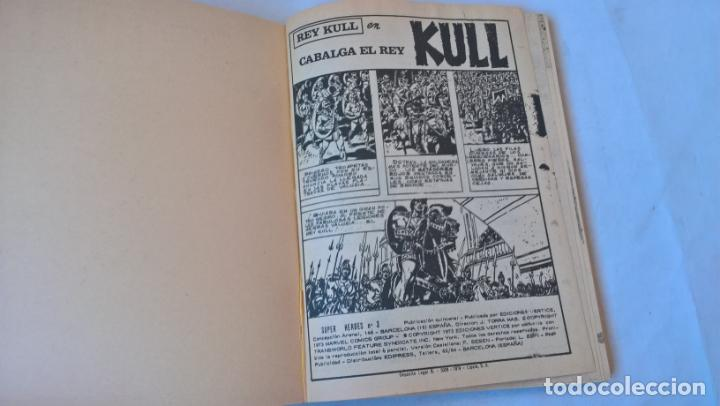 Cómics: COMIC: SUPER HEROES PRESENTA Nº 3. KULL. CABALGA EL REY - Foto 2 - 194198337