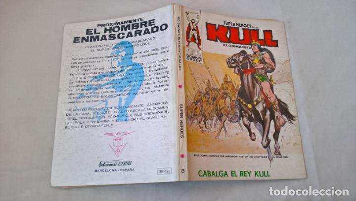COMIC: SUPER HEROES PRESENTA Nº 3. KULL. CABALGA EL REY (Tebeos y Comics - Vértice - Super Héroes)