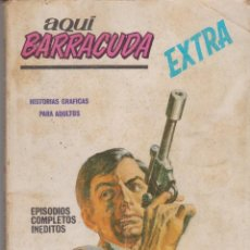 Cómics: AQUÍ BARRACUDA -- Nº 3 PAGADO CON LA MUERTE . Lote 194198958